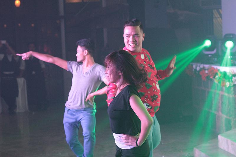 Winning Dance