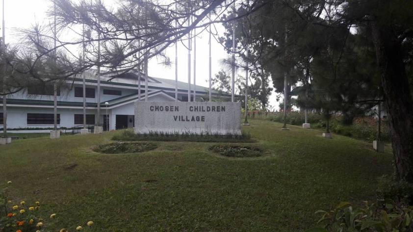 TA Goes to the Chosen Children Village