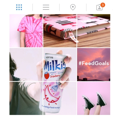 Social media posts for Milkis